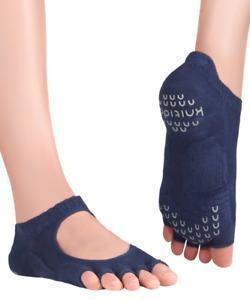 Knitido+ Kasumi, Offene Yoga-Zehensocken mit Grip