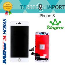 "Kingwo Pantalla Completa PREMIUM LCD iPhone 8 4.7"" Blanco Display Blanca"