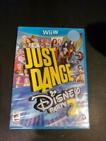 Just Dance Disney Party 2 Nintendo Wii U New Sealed Free first class shipping