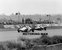 STIRLING MOSS GOODWOOD 1962 GLOVER LOTUS 18 21 1962 BEFORE ACCIDENT PHOTOGRAPH 3