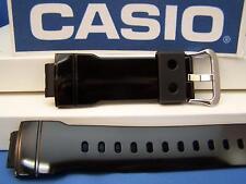 Casio Watch Band AW-582 SC-1 Shiny black Resin Strap For Digital Analog G-Shock
