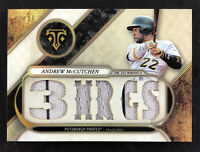 2017 Topps Triple Threads Relics Andrew McCutchen '3 HR GS' - #13/36 - Pirates