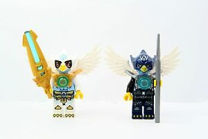 LEGO 70013 Chima Equila and Eglor Lot of 2 Minifigures w/ Weapons - NEW