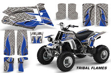 AMR Racing Yamaha Banshee 350 Decal Graphic Kit ATV Quad Wrap  87-05 TRIBAL BLUE