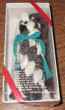 Rare Htf Dumpster Doll New in Box 1995 Recycled String Rope Toy Hand Made Green