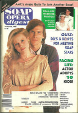 SOAP OPERA DIGEST 20 March 1990 in Near Mint condition