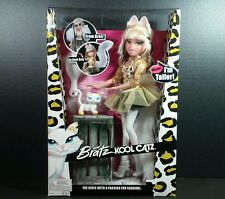 Bratz Kool Catz Cloe Doll Persian White Cat Doll Cool Cats Girl Gift Present toy