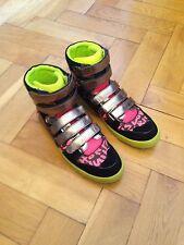 LOUIS VUITTON Graffiti Stephen Sprouse Sneaker Neon Pink Boot Schuhe Gr:45