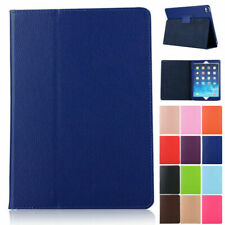 Synthetic Leather Flip Case Folio Stand For iPad Mini 4 Pro 11 9.7 5th 6th Air 2
