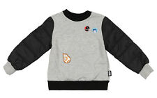 DISNEY Toddler Star Wars Button Textured Sweater sz 3T Heather Gray Black