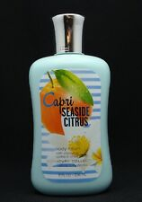 Bath & and Body Works CAPRI SEASIDE CITRUS Lotion 8 oz. NEW SIGNATURE COLLECTION