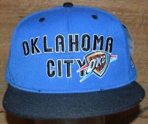 Oklahoma City Thunder Blue NBA Licensed Snap Back BNWT - Free Postage