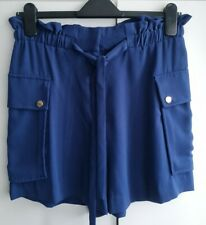 H&M Ladies Navy Blue Shorts BNWT Size 12