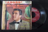 """MARCO ANTONIO VAZQUEZ CON ANTONIO BRIBIESCA -ADORO- MEXICAN 7"""" EP PS BOLERO"""