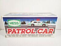 1993 Hess Truck Patrol Car w/ Box Battery Operated