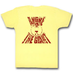 Andre the Giant Yellow T-shirt New