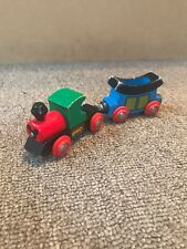 Brio Wooden Train Mickey Express W/ Cart