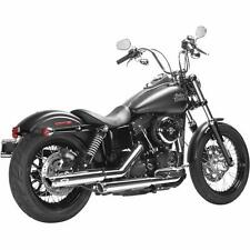 Magnaflow Chrome Legacy 3 Slip-On Mufflers for 1995-16 Harley Softail Dyna XL