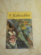 Vintage Collectable Book Of Oscar Kokoschka, By Anthony Bosman - 1964