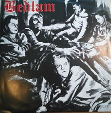BEDLAM TOTAL BEDLAM RARE 1984 HC Adrenalin OD Send Help Mental Decay Skulls FOD