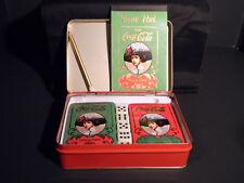 Coca-Cola Tin and Game Set (eb507)