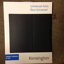 "Kensington Universal Folio Folder Protection Cover For tablet 9""-10"""