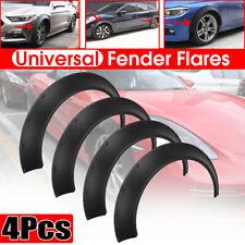 4Pcs Flexible Universal Car Fender Flares 3.9'' Extra Wide Body Kit Wheel Arches