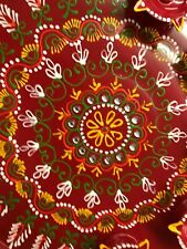 Indian Ethnic SPECIAL  Decoated Puja Thali Decorative Tray Hindu Pooja  Plate