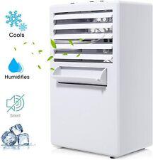 Climatiseur Portable, Mini Refroidisseur d'Air Avec 3 Vitesse, 3 en1 Ventilateur