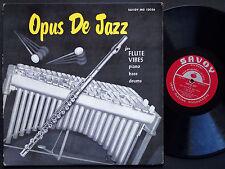 MILT JACKSON KENNY CLARKE HANK JONES Opus De Jazz LP SAVOY MG 12036 RVG DG MONO