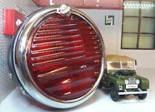 Land Rover Serie 1 86 88 107 FRENO TRASERO LUZ Pork Pie Estilo lente de cristal