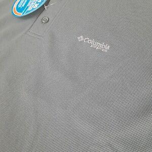 Columbia PFG NWT Men's Perfect Cast Big & Tall XLT Short Sleeve Green Polo Shirt