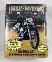 Harley Davidson Collectors Series 3 - Factory Set Hologram Included 100 Cards