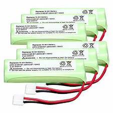 6PCS 2.4V 500mAh NI-MH Rechargeable Battery for CPH-518D/BT-28443/BT-18443
