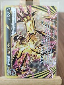 Yveltal Break 66/114 Holo Ultra Rare  Steam Siege Pokemon Card