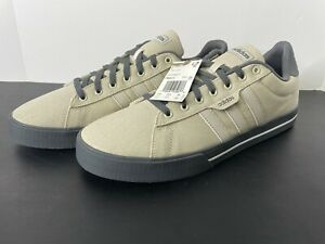 Adidas Men's Daily 3.0 Skate Shoe Alum/Alum/Grey Mens Size 13