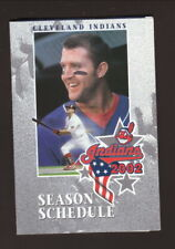 Jim Thome--Cleveland Indians--2002 Pocket Schedule--Continental Airlines