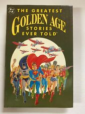 Greatest Golden Age Stories Ever Told #1 DC 6.0 FN Hardcover (2010)