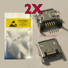 2 X New Micro USB Charging Sync Port Charger Acer Iconia A100 A200 A210 A500 USA