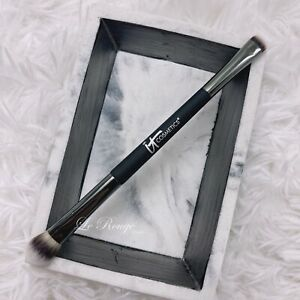 It Cosmetics #5 No-Tug Heavenly Luxe Dual Eyeshadow smudge blending Brush *new