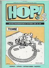 HOP n°52. Tome, Uderzo, Lepage, Captain Horn. 1992. Etat neuf