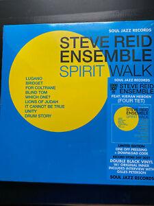 STEVE REID ENSEMBLE Spirit Walk LTD Edition Vinyl LP new & sealed FREE POST IN U