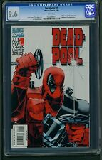 Deadpool #1 (1994) CGC Graded 9.6 ~ Mark Waid Story ~ Juggernaut ~ Banshee