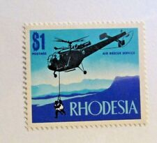 Rhodesia Sc #292 ** MNH, Helicopter, aviation, air rescue service postage stamp
