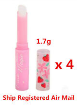 MISTINE Lip Balm Pink Magic Strawberry Vitamin E Moisture Nourishing Care x 4