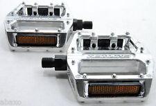 "Redline Lo-Profile Alloy BMX Flat Platform Pedals 1/2"""