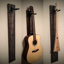 Rustic Handmade Guitar Hanger, Reclaimed Wood