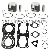 Polaris Indy 500 SKS Pistons Top End Gasket Kit Std Bore 72mm 1990 1991 1992