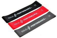 Solo Performance Resistance Bands mit Tragetasche,