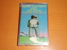 """GERRY RAFFERTY AND JOE EGAN """"STUCK IN THE MIDDLE WITH YOU"""" CASSETTE TAPE NEW!"""